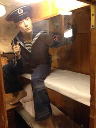 U-Bootmuseum U-434: Спальные места матросов