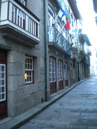 Hotel da Oliveira: Hotel entrance - not easy to spot!