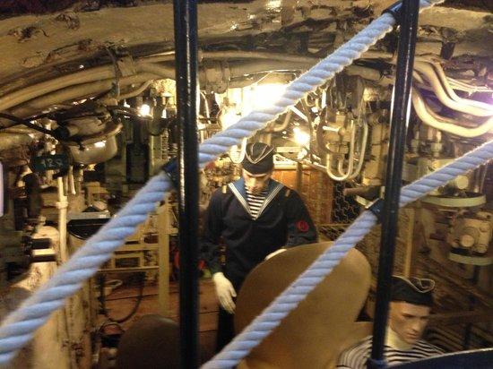 U-434: Пусковой отсек