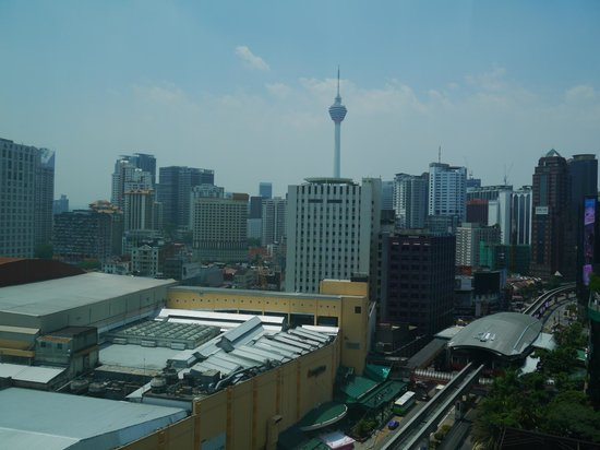 ParkRoyal Kuala Lumpur: View from Room1726