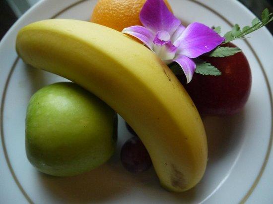 PARKROYAL Kuala Lumpur : welcome fruits