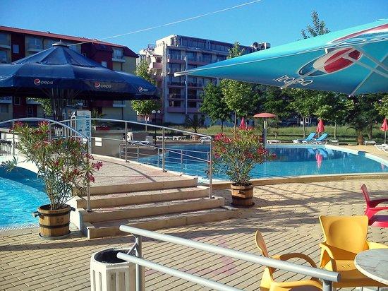 Ivana Palace Hotel: Part of pool