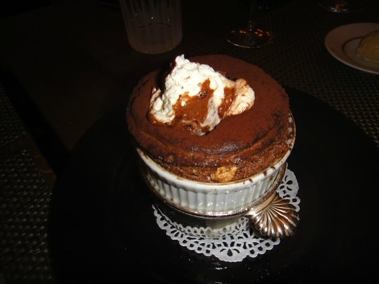 Apicius: best desert! chocolate soufflé!
