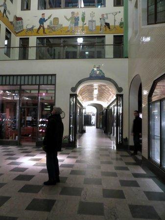 Specks Hof: Passage