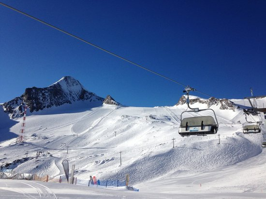 Kitzsteinhorn: Perfect March conditions