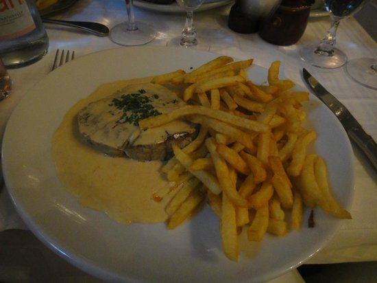 Chez Georges : main course