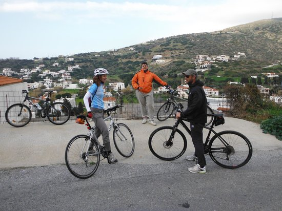 Andros by Bike: riding...