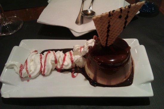 A Taberna do Bispo : Flan triple chocolate