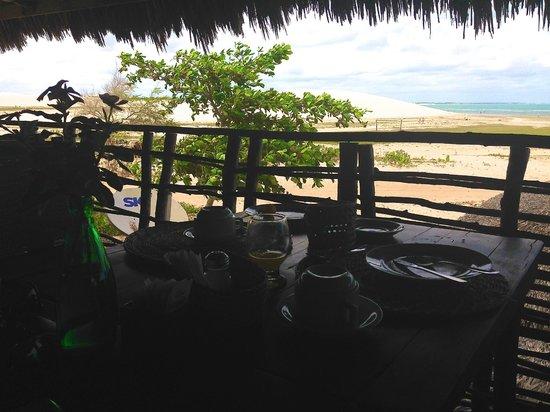 Vila Kalango : Vista Cafe da Manha