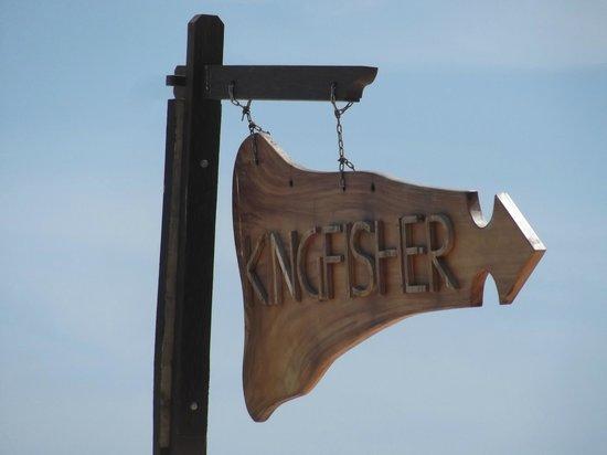 Kingfisher Hotel : On the beach