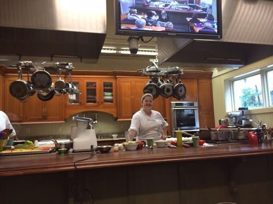 Charleston Cooks! Maverick Kitchen Store: cooking class