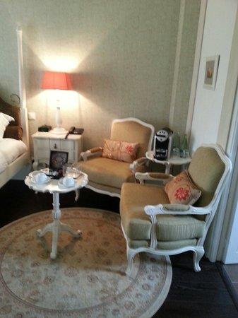 Hôtel Le Moulin De Madame : Bedroom