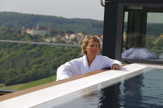 Langenburg, Tyskland: ..Auch der Dachpool ist ein Highlight!