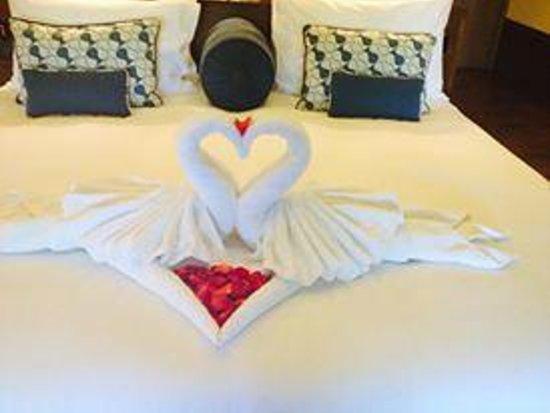 Fairmont Sanur Beach Bali : Towel swans