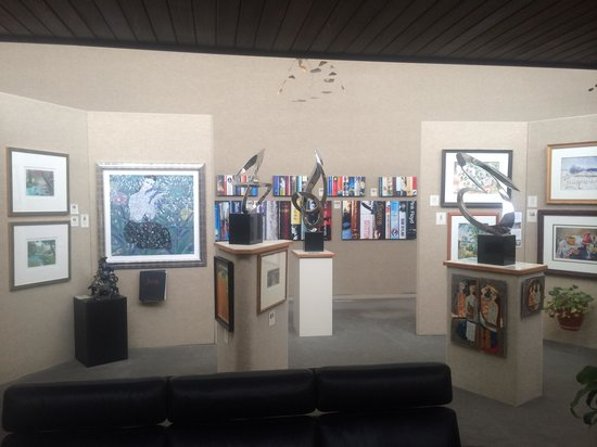 Saper Galleries and Custom Framing: Saper Galleries offers a variety of art forms.