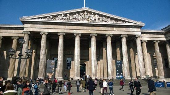 British Museum: entrance