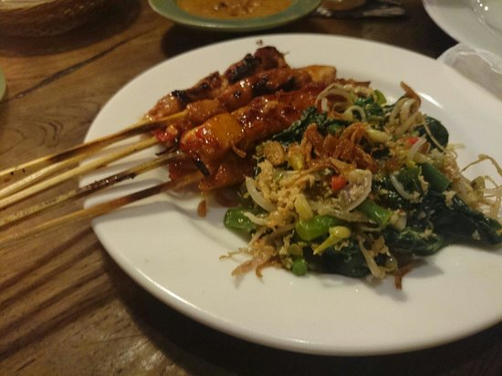 Warung Lada: Chicken Satay is awesome!