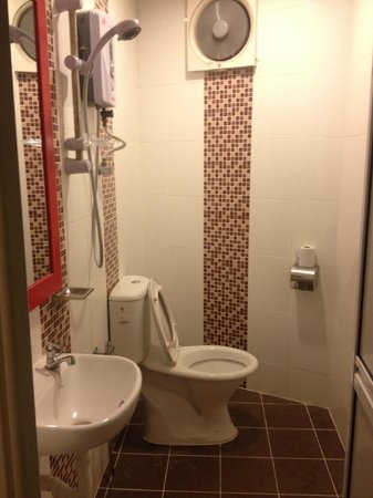 Ricca Inn: Bathroom