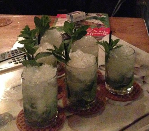 R&S - Chalet Guytaune: Delicious mojitos