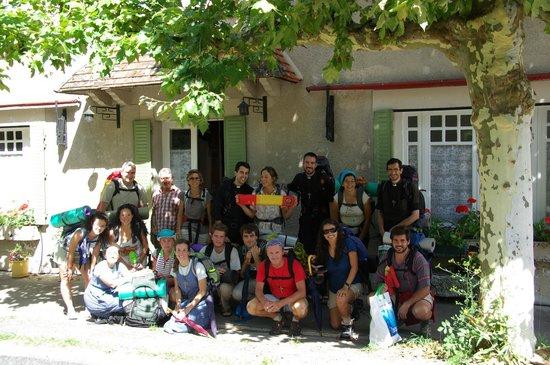 La Bonne Auberge : Pilgrims just visiting