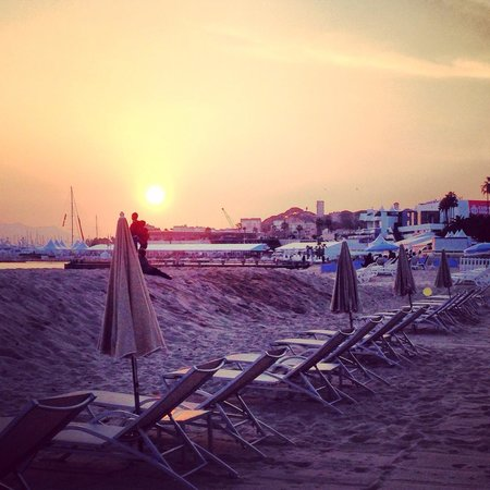 Sunset a Plage Royale