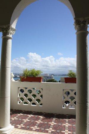 Posada San Francisco Old San Juan: 5th Floor Balcony