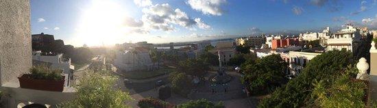 Posada San Francisco Old San Juan: View from 5th Floor Balcony