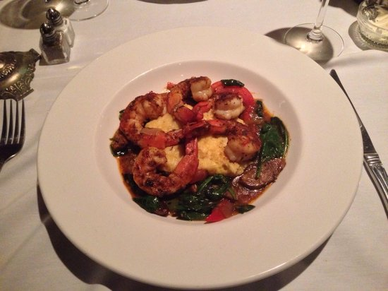 Julep's New Southern Cuisine: Shrimp and grits