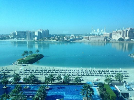 Fairmont Bab Al Bahr : Wonderful view from our room.