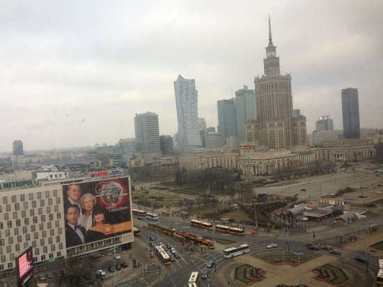 Novotel Warszawa Centrum: First morning view from my room!