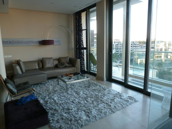 Waterfront Village: Living room with view!