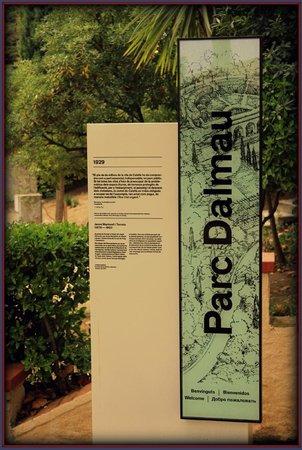 Mont-Rosa Hotel : парк Dalmau