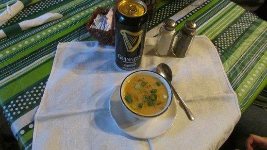 Olde Log Inn: home made soup