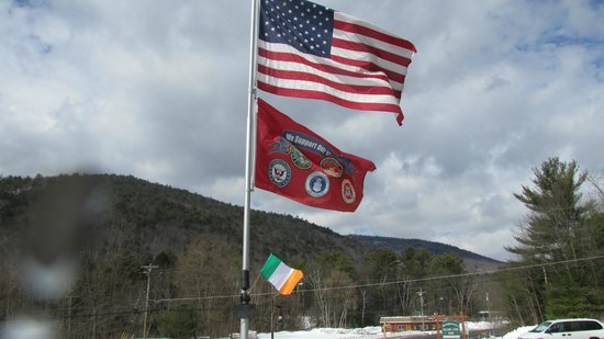 Olde Log Inn: Support our troops