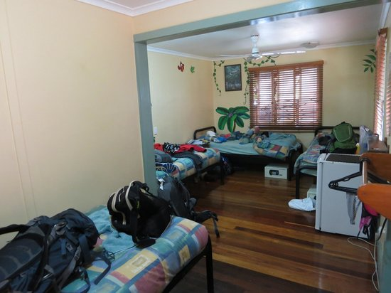 Travellers Oasis Backpackers : 4 person mixed dorm