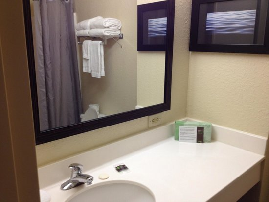 Extended Stay America - Orlando - Maitland - 1776 Pembrook Drive : Clean spacious bath with decent towels