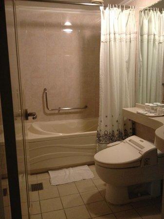 Busan Tourist Hotel: 浴室
