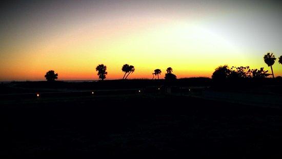 Arvilla Resort Motel Treasure Island: March Sunset