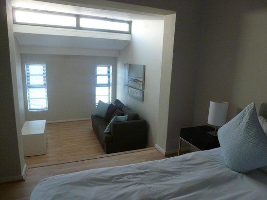 Whale Watchers Luxury Self-catering Accommodation @ Muizenberg Beach: First bedroom