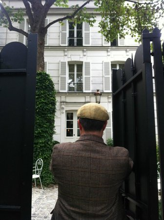 Hotel Particulier Montmartre : Open sesame...