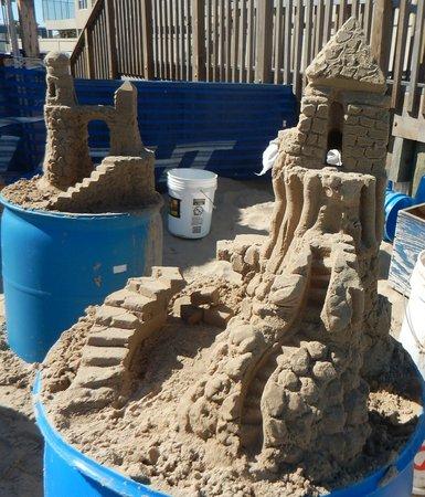 Sandcastle Lessons: Sandcastles