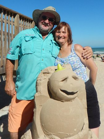 Sandcastle Lessons: Andy and juli