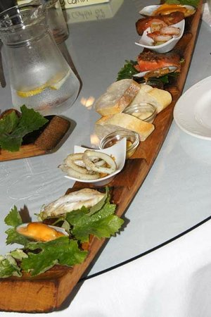 Petite Fleur at Seifried Estate: Seafood Platter