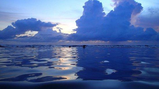 Royal Decameron Salinitas: View from saltwater pool