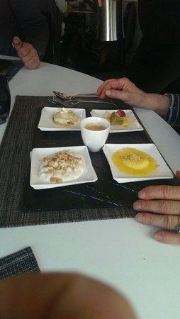 Caf gourmand revisit foto de le verre y table - Restaurant viroflay le verre y table ...