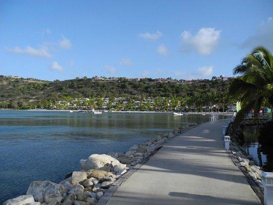 St. James's Club & Villas : Mamora bay et les villas du St-James Club