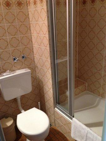 Basic Hotel Hannover Airport: Basic bathroom!