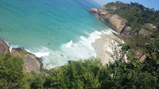 Joa Beach (Joatinga): A praia, panorâmica