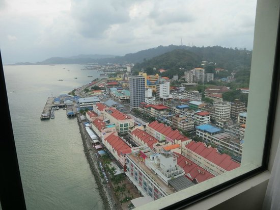 Four Points by Sheraton Sandakan: view from sea view room