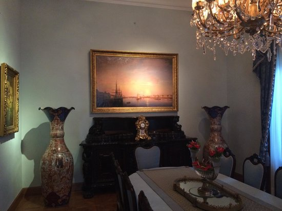 Sakip Sabanci Museum: Docks of St.Petersburg